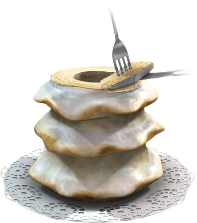 Baumkuchen Servierhinweis