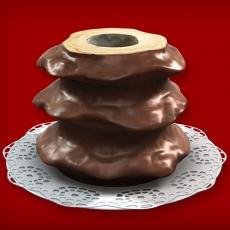 Baumkuchen Vollmilch (3-Ring 1100-1500g)
