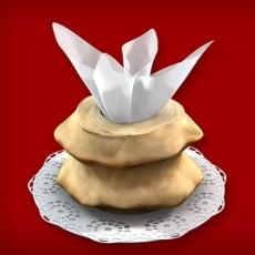 Baumkuchen Rohling ohne Glasur (2-Ring 600-1000g)