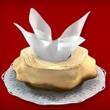 Baumkuchen Rohling ohne Glasur (1-Ring 350-500g)
