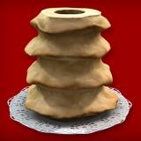 Baumkuchen Rohling ohne Glasur (4-Ring 1600-2000g)