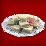 Baumkuchenspitzen weiße Schokolade