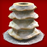 Baumkuchen Fondant (4-Ring 1600-2000g)